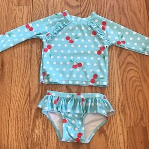 Tucker + Tate 2 PC Swimsuit 6 months NEW